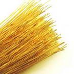 Florist wires, Gold colour, 50 pieces, Length 80cm, Diameter 0.6mm (approximate), Gauge 22
