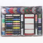 Sewing craft set, Polyester and Cotton, Assorted colours