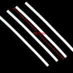 Hot Melt Glue Sticks, Plastic, Cream colour, 19.8cm x 7mm, 4 pieces