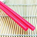 Hot Melt Glue Sticks, Plastic, Magenta, 25cm x 7mm, 2 pieces