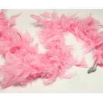 Feathers, Turkey feathers, pink, 1.9m x 8.5cm