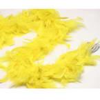 Feathers, Turkey feathers, Yellow, 1.9m x 8.5cm