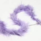 Feathers, Chicken Feathers, purple, 2m x 3.5cm