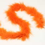 Feathers, Chicken Feathers, Rust colour, 2m x 3.5cm