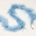 Feathers, Chicken Feathers, blue, 2m x 3.5cm