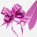 Automatic Ribbon bow, Magenta, pink, 3 Flower bows, 20cm x 15cm x 7cm