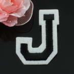 Applique Cloth label, Hand sewn cloth, 5.2cm x 3.8cm, 1 piece