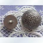 Imitation metal buttons, 1.5cm x 1.5cm x 0.5cm, 1 pieces