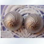 Imitation metal buttons, 1.6cm x 1.6cm x 1cm, 1 pieces