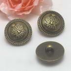 Buttons, Resin, Bronze colour, 2 buttons, 2.1cm x 1.5cm