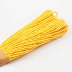 Raffia Ribbon, Mustard, 24m x 0.2cm