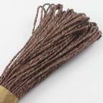 Raffia Ribbon, brown, 24m x 0.2cm