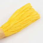 Raffia Ribbon, Yellow, 13m x 0.5cm