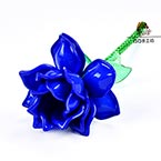 Bead flower kits, Dark blue, Snow flower, Size of item when completed (approximately) 8cm x 27cm