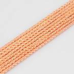 Ficelles Mambo, Polyester, orange, 5m, Diamètres de 3mm