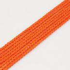 Ficelles Mambo, Polyester, orange-rouge, 5m, Diamètres de 3mm