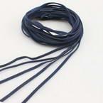 Faux suede string, Faux suede, Dark blue, Diameter 3mm, 5 strings
