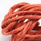 Paper ribbon, Rust colour, 4m x 4mm