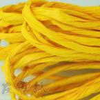 Paper ribbon, Yellow, 4m x 4mm