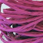 Paper ribbon, purple, 4m x 4mm