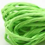 Paper ribbon, Light green, 4m x 4mm