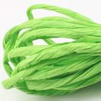 Paper ribbon, green, 4m x 4mm