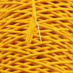 Paper cord with wire, Dark orange, 15m x 2mm