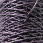 Paper cord with wire, Dark purple, 10m x 2mm