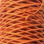 Paper cord with wire, orange, 10m x 2mm