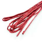 Paper cord with wire, Burgandy, 10m x 2mm