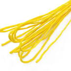 Paper cord with wire, Mustard, 10m x 2mm