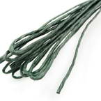 Paper cord with wire, Dark green, 10m x 2mm