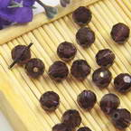 Beads, Auralescent Crystal, Crystal, Dark purple , Faceted Rounds, Diameter 6mm, 10 Beads