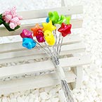 Beads Mini Bouquet Flower Stamen, wires and Plastic, 12 , 13cm