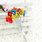 Beads Mini Bouquet Flower Stamen, wires and Plastic, 10 , 13.5cm