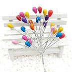 Beads Mini Bouquet Flower Stamen, wires and Plastic, 5 , 18cm