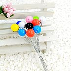 Beads Mini Bouquet Flower Stamen, wires and Plastic, 12 , 13.5cm