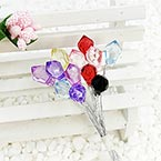 Beads Mini Bouquet Flower Stamen, wires and Plastic, 15 , 14cm