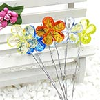 Beads Mini Bouquet Flower Stamen, wires and Plastic, 6 , 13cm