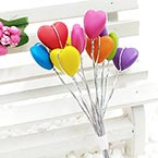 Beads Mini Bouquet Flower Stamen, wires and Plastic, 10 , 13cm