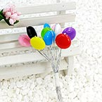 Beads Mini Bouquet Flower Stamen, wires and Plastic, 10 , 12.5cm