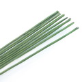 Florist wires, Dark green, 10 pieces, Length 40cm, Diameter 2mm (approximate), Gauge 12