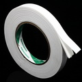 Double sided sticky tape, Sponge foam, white, 3.5m x 1.5cm