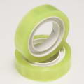 Transparent Colour Sticky tape, Plastic, Light Yellow, 50m x 1.2cm