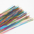 Florist wires, Assorted colours, 20 pieces, Length 80cm, Diameter 0.6mm (approximate), Gauge 22