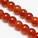 Colour semi-transparent glass beads - 12mm