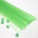 Lucky star plastic straws, Plastic, green, 38cm x 4mm, 60 pieces (approximate)